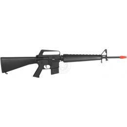 JG Works Airsoft Gun M16A1 Vietnam AEG Rifle w/ Reinforced Barrel