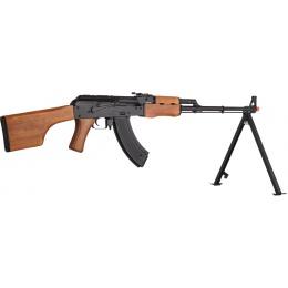 JG Full Metal RPK Electric Blowback AEG Rifle w/ Real Wood and Bipod