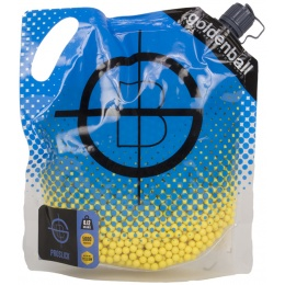 0.12g GoldenBall ProSlick JDM-Spec Seamless Airsoft BBs - 5000rd Bag