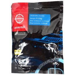 0.25g GoldenBall Seamless BBs - 3000rd Bag - STEALTH BLACK
