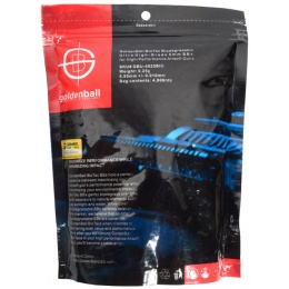 0.25g GoldenBall Biodegradable Seamless Airsoft BBs - 4000rd BAG