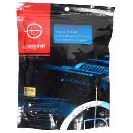 0.23g GoldenBall MaxSlick Seamless Airsoft BBs - 3000rd BAG