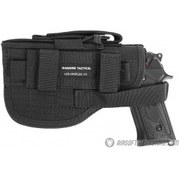 G-Force Airsoft Right Handed 1000D Universal Pistol Holster - BLACK