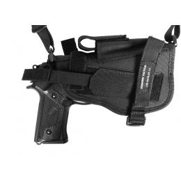 G-Force Police Shoulder Pistol Holster - 1000D Construction - BLACK