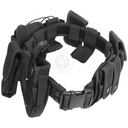 AMA 1000D Police Utility Belt w/ Holster - BLACK