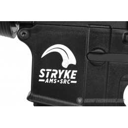 SRC AMS Stryke Series SR15-A4 RIS Carbine Airsoft AEG Rifle - BLACK