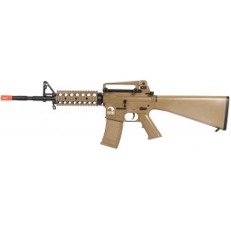 AMS-SRC Stryke Series SR15-A4 RIS Carbine AEG Airsoft Rifle - TAN