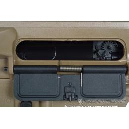 AMS-SRC Stryke Series SR15 MK18 RIS Full Metal Gearbox AEG Rifle - TAN
