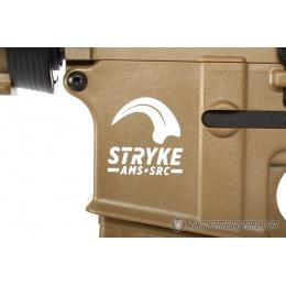 SRC AMS Stryke Series SR15-A3 MK18 RIS Airsoft AEG Rifle - TAN