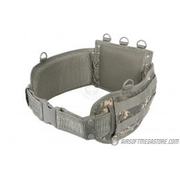 NcStar Low-Profile MOLLE Battle Belt w/ Internal QD Combat Belt - ACU