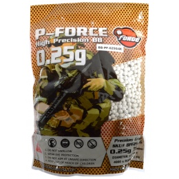 0.25g PFORCE Seamless Competition Grade Airsoft BBs - 4000rd BAG