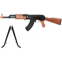 Airsoft Kalashnikov AK47 High Powered Spring Rifle w/ Bipod