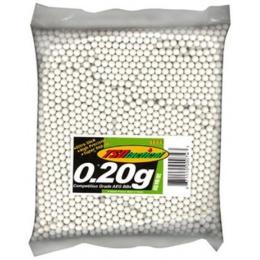 0.20G TSD Premium Grade Seamless Airsoft BBs - 3000 Round Bag
