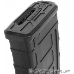 SRC STRIKE Series 300rd Airsoft Hi-Cap Polymer M4 AEG Magazine - BLACK