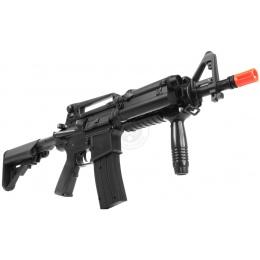 DBoys Fully Automatic M4 RIS Airsoft AEG Rifle w/ PEQ Box