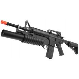 310 FPS DBoys Customizable M4 RIS Grenadier Polymer AEG Airsoft Rifle