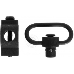 JBU Full Metal Rail Mounted QD Sling Swivel - Compatible w/ 20mm Rails