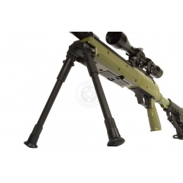 WellFire MB13D APS SR-2 Metal Sniper Rifle w/ Scope & Bipod - OD