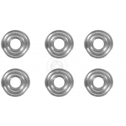 JBU Performance Stainless Steel 7mm Bushings - For Metal Gearbox AEGs