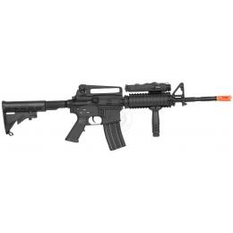 440 FPS Airsoft DBoys Full Metal M4 RIS AEG Reinforced AEG Rifle