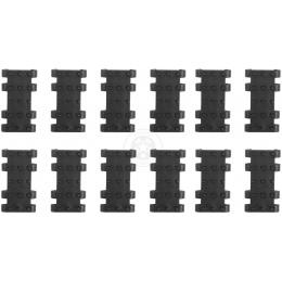 JBU Set of 12 RIS Rail Cover Panels - BLACK