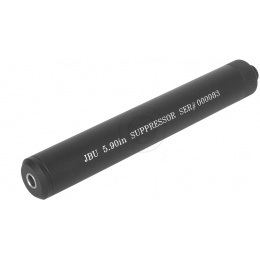 JBU Full Metal Airsoft Pistol 6.03mm Mock Suppressor / FPS Increaser