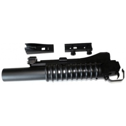 DBoys Airsoft LONG M203 Gas Powered 40mm Grenade Launcher w/ Mount