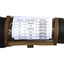 Flyye Industries Airsoft 1000D Single Fold Map Arm Band - COYOTE BROWN