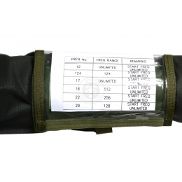 Flyye Industries 1000D Tactical Single Fold Map Arm Band - OLIVE DRAB