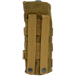 Flyye Industries MOLLE Water Bottle Pouch w/ Drawstring - COYOTE BROWN