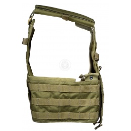 Flyye Industries MOLLE Airsoft Adjustable Plate Carrier - RANGER GREEN