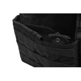 Flyye Industries MOLLE FAST Attack Plate Carrier w/ Cummerbund - BLACK