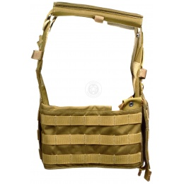 Flyye Industries MOLLE Airsoft Adjustable Plate Carrier - COYOTE BROWN