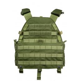 Flyye Industries MOLLE Plate Carrier w/ Adjustable Cummerbund - OD