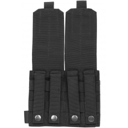 Flyye Industries 1000D Cordura MOLLE Double M14 Magazine Pouch - Black
