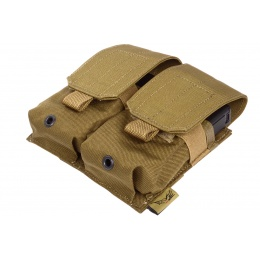 Flyye Industries 1000D MOLLE Double M14 Magazine Pouch - COYOTE BROWN