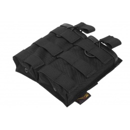 Flyye Industries 1000D MOLLE EV Double Magazine Pouch - BLACK