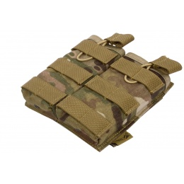 Flyye Industries Airsoft 1000D Double Magazine Pouch - MULTICAM