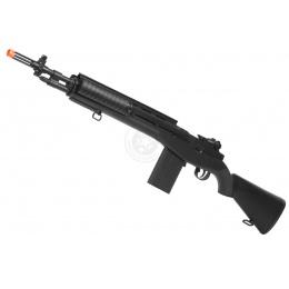 380 FPS TSD M14 RIS High-Powered Spring Sniper Rifle - BLACK