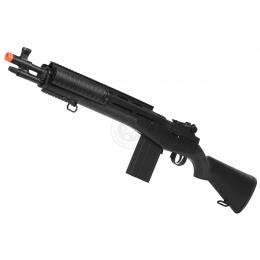 360 FPS TSD M14 RIS CQB High-Powered Spring Sniper Rifle - BLACK