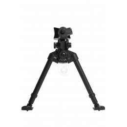AGM Airsoft Full Metal Quick Release Bipod w/ Universal Sling Mount