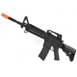 CYMA M4 RIS Full Metal Gearbox Airsoft AEG Rifle - X-Tac Polymer
