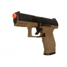Umarex Airsoft Walther PPQ Spring Pistol w/ Locking Slide - TAN