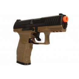 Umarex Airsoft Walther PPQ Spring Pistol w/ Locking Slide - TAN