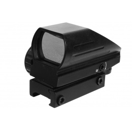 AIM Sports Tactical Red & Green Dot Reflex Sight w/ Weaver Mount