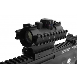 NcStar D3RS135 Tactical 3-Rail Sighting System Red/Green/Blue Dots