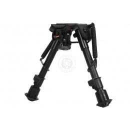 NcStar Precision Grade Compact Notched Bipod w/ 3 Mount Adapters