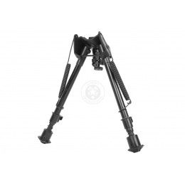 NcStar Airsoft Bipod w/ Notched Locking Legs and 3 Mount Adapters
