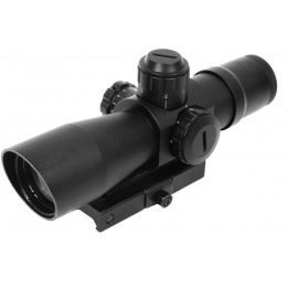 NcStar Zombie Stryke Mark III 4x32 Dual Illuminated Rifle Scope