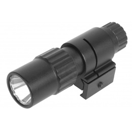 NcStar Airsoft 35 Lumen Slim Line Rail Mount LED Flashlight